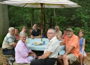 Garden Tour Dinner Guests