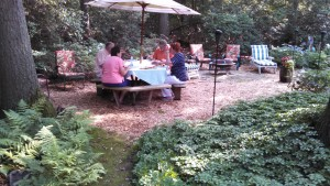 Garden Tour Dining